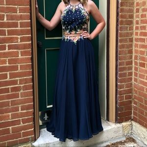 Tiffany Designs Dresses - Two Piece Prom Dress